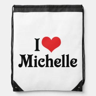 私はミシェールを愛します ナップサック