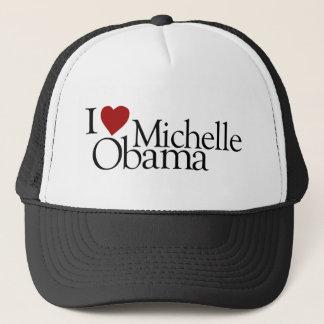 私はミシェールオバマを愛します キャップ