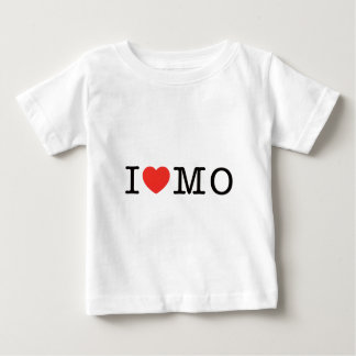 私はミズーリを愛します ベビーTシャツ