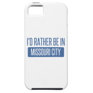 私はミズーリ都市にむしろいます iPhone SE/5/5s ケース