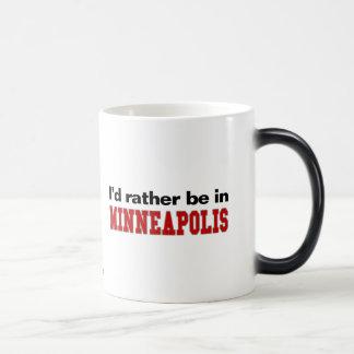 私はミネアポリスにむしろいます モーフィングマグカップ