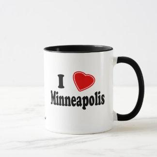 私はミネアポリスを愛します マグカップ
