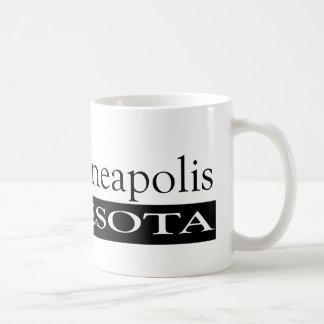 私はミネアポリスミネソタを愛します コーヒーマグカップ