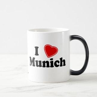 私はミュンヘンを愛します モーフィングマグカップ