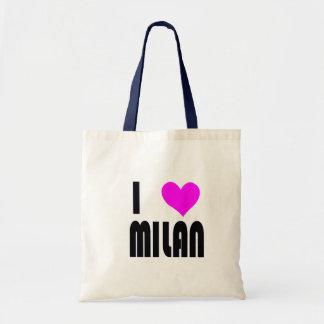 私はミラノを愛します トートバッグ
