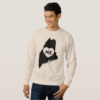 私はメインの州の人のワイシャツを愛します スウェットシャツ