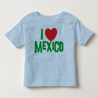 私はメキシコの幼児を愛します トドラーTシャツ