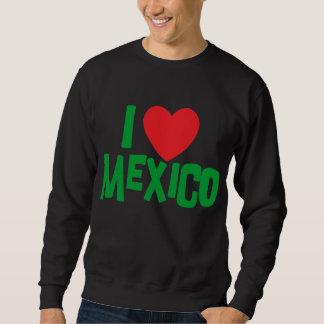 私はメキシコのTシャツを愛します スウェットシャツ