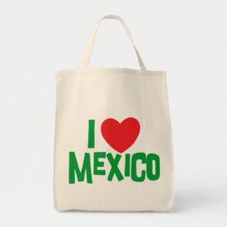 私はメキシコを愛します トートバッグ
