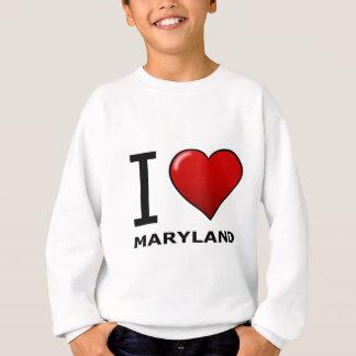 私はメリーランドを愛します スウェットシャツ