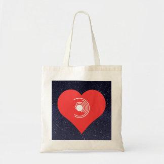 私はモダンなレコードを愛します トートバッグ