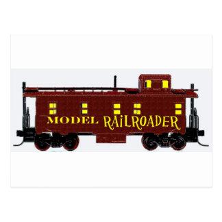 私はモデル鉄道を好みます ポストカード