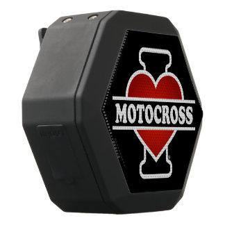 私はモトクロスを愛します ブラックBluetoothスピーカー