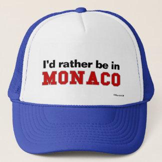 私はモナコにむしろいます キャップ