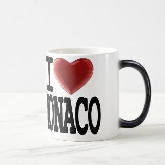 私はモナコを愛します モーフィングマグカップ