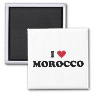 私はモロッコを愛します マグネット