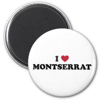 私はモンセラートを愛します マグネット