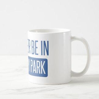 私はモンテレー公園にむしろいます コーヒーマグカップ