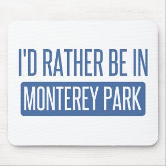 私はモンテレー公園にむしろいます マウスパッド