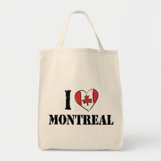 私はモントリオールカナダを愛します トートバッグ