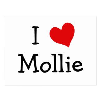 私はモーリーを愛します ポストカード