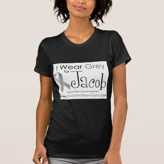 私はヤコブのための灰色を身に着けています Tシャツ