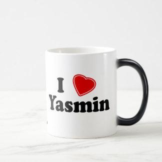 私はヤズミンを愛します モーフィングマグカップ