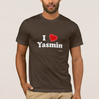 私はヤズミンを愛します Tシャツ