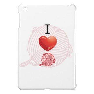 私はヤーンを愛します iPad MINIケース