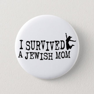私はユダヤ人のお母さん-娘版--を生き延びました 5.7CM 丸型バッジ