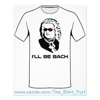 私はヨハン・ゼバスティアン・バッハです チラシ