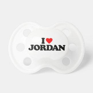 私はヨルダンを愛します おしゃぶり