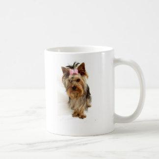 私はヨークシャーテリアを愛します コーヒーマグカップ