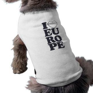 私はヨーロッパカスタムなペット衣類を愛します ペット服