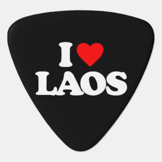 私はラオスを愛します ギターピック