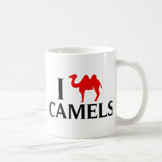 私はラクダを愛します コーヒーマグカップ