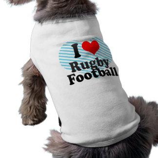 私はラグビーを愛します ペット服
