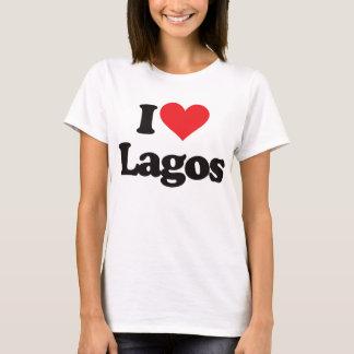 私はラゴスを愛します Tシャツ