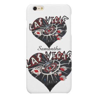 私はラスベガスのハートを愛します マットiPhone 6 PLUSケース