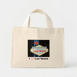 私はラスベガスを愛します ミニトートバッグ