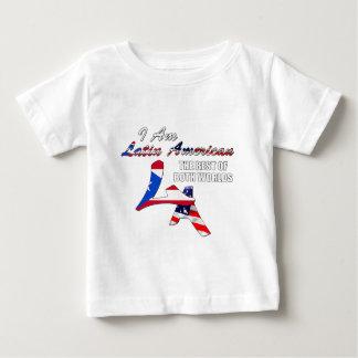 私はラテンアメリカです ベビーTシャツ