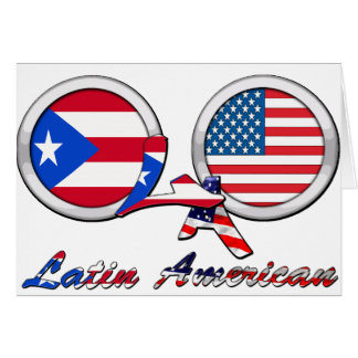私はラテンアメリカのBoricuaです カード