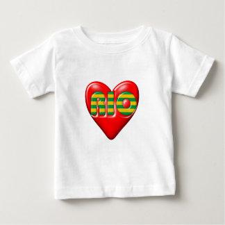私はリオデジャネイロを愛します ベビーTシャツ