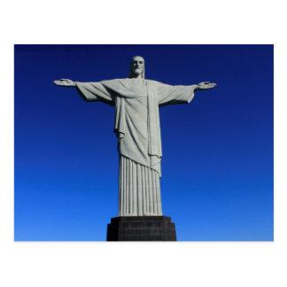 私はリオデジャネイロ- EU Amoリオデジャネイロ--を愛します ポストカード