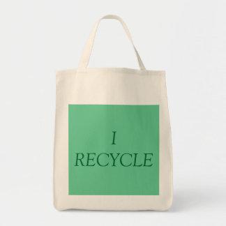 私はリサイクルします トートバッグ