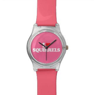 私はリスを愛します 腕時計