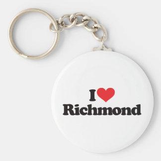 私はリッチモンドを愛します キーホルダー