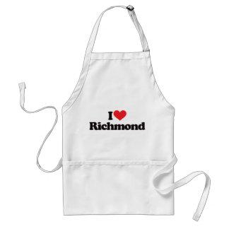 私はリッチモンドを愛します スタンダードエプロン
