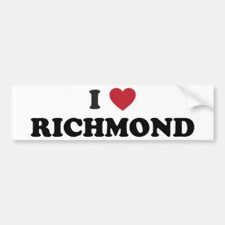 私はリッチモンドヴァージニアを愛します バンパーステッカー