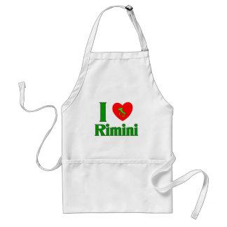 私はリミニイタリアを愛します スタンダードエプロン